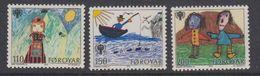 Faroe Islands 1979 Year Of The Child 3v  ** Mnh (40018B) - Faeroër
