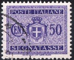 ITALIA, ITALY, REGNO, KINGDOM, SEGNATASSE, POSTAGE DUE, 1934, FRANCOBOLLO USATO YT T34   Scott J34 - 1900-44 Vittorio Emanuele III