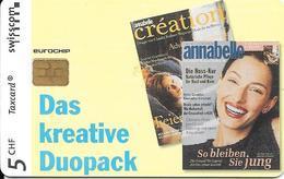 Swisscom: Annabelle, Création Zeitschriften - Schweiz