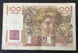 France Billet 100 Francs - 1871-1952 Anciens Francs Circulés Au XXème