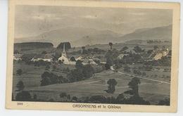 SUISSE - FRIBOURG - ORSONNENS Et Le Gibloux - FR Fribourg