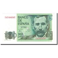 Billet, Espagne, 1000 Pesetas, 1979-10-23, KM:158, NEUF - [ 4] 1975-… : Juan Carlos I