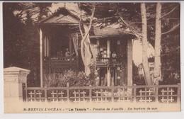 SAINT BREVIN L'OCEAN (44) : LES TAMARIS - PENSION DE FAMILLE - TOURISTES AUX FENETRES - EN BORDURE DE MER - 2 SCANS - - Saint-Brevin-l'Océan