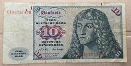 Allemagne 10 Mark 1970 - 10 Deutsche Mark