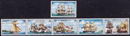 C0451 ANGUILLA 1976, SG 255-60  Bicentenary Battle Of Anguilla, Ships,  MNH - Anguilla (1968-...)