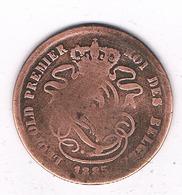 2 CENTIMES  1835   BELGIE /4641G/ - 1831-1865: Leopold I