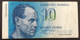 Finlande Billet 10 Markkaa 1986 - Finlande