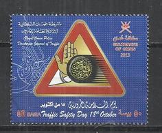 OMAN 2013 - SAFETY TRAFFIC DAY - USED OBLITERE GESTEMPELT USADO - Oman