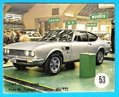FIAT DINO COUPE ... Yugoslav Vintage Card * Used - Removed From The Album * Car Automobile Automobil * Italy Italia - Other