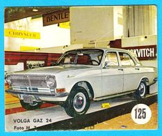 VOLGA GAZ 24 - Yugoslav Vintage Card * Used - Removed From The Album * Car Automobile Automobil * Russia - Other