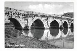 RIMINI - PONTE TIBERIO   VIAGGIATA FG - Rimini