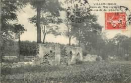 VILLEMONBLE RESTE DU MUR CRENELE SOUVENIR DE 1870 - Villemomble