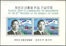 Korea South 1972 SG1029 President Pak MS MNH - Korea, South