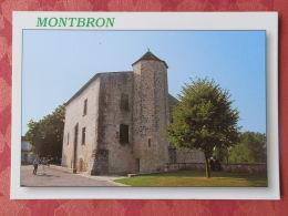 Dep 16 , Cpm  MONTBRON , Le Vieux Chateau à La Basse Ville , N 151 (18.03.17.085) - France