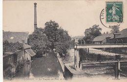 Cp , 14 , LISIEUX , Les Touques Au Pont De Caen - Lisieux