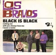 """LOS BRAVOS """"BLACK IS BLACK - CUTTING OUT - WILL YOU ALWAYS LOVE ME - I WANT A NAME"""" 45 Tours DISQUE VINYL - Vinyl Records"""