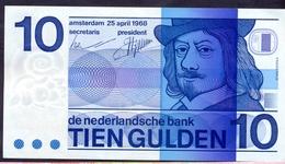 Netherlands 10 Gulden 1968 UNC P- 91b - [2] 1815-… : Kingdom Of The Netherlands