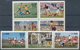 Soccer Football Sao Tome & Principe #541/7 1978 World Cup Argentina MNH ** - Coupe Du Monde