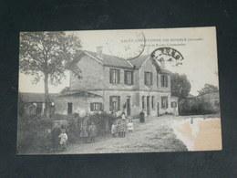 SAINT CHRISTOPHE DU DOUBLE    / ARDT   Libourne  1910 /   VUE MAIRIE  & ECOLE  ........  EDITEUR - Autres Communes