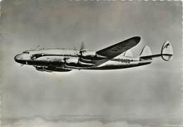 CPSM Lockheed L-749 Constellation                             L2655 - 1946-....: Era Moderna