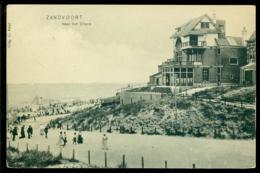 Nederland Ansichtkaart 1912 Zanvoort Naar Het Strand - Zandvoort
