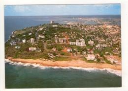 CP 10*15-POP977-MONROVIA VUE AERIENNE MONROVIA BEACH - Liberia