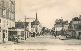 PLACE DE LA GARE ET RUE DE PARIS A JOINVILLE LE PONT - Joinville Le Pont