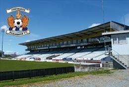 Stadium Rugby Park (Kilmarmock FC,Scotland) Postcard - Size: 15x10 Cm. Aprox - Fútbol