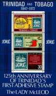71671) TRINIDAD AND TOBAGO 1972 125° ANN. DEI FRANCOBOLLI  MNH** BF.3 - Trinidad & Tobago (1962-...)