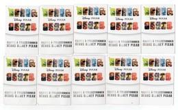 19 CARTES DISNEY Pixar - Unclassified