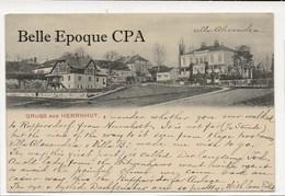 Sachsen - GRUSS Aus HERRNHUT - Villa Alexandra ++++ Hermann Seibt, Meissen ++++ Vers Oxford, OH, USA, 1907 - Herrnhut