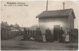 - T26401CPA - MOMIGNIES - Belgique - Une Visite à La Douane Belge - Bon état - EUROPE - Momignies