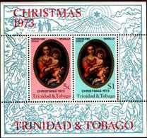 71672) TRINIDAD AND TOBAGO 1973 1NATALE--MURRILLO  MNH** BF.10 - Trinidad & Tobago (1962-...)
