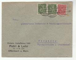 1922 Offenbach AMBULANCE FACTORY COVER  Krankenfahrzeug Fabrik Germany Stamps Health Medicine - First Aid