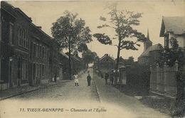Vieux-Genappe :  Chaussée De L'église ( Ecrit Avec Timbre ) - Genappe