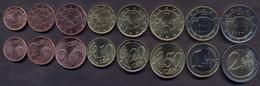 Estonia Euro Set 2018 UNC < (1, 2, 5, 10, 20, 50c 1e, 2e - 8 Coins) - Estonia