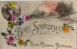Sart-Dames-Avelines : Bons Souvenirs  ( Ecrit 1922 ) - Belgique
