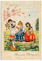 BUONA PASQUA - GIOVANI RAGAZZE - Pasqua