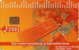 TARJETA TELEFONICA DE BOSNIA Y HERZEGOVINA. (521) - Bosnia