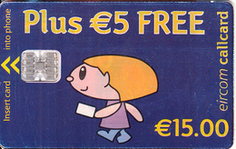 IRELAND - Simply Talk 15 Euro/Plus 5 Euro Free, Chip SC7, Used - Ireland