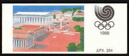 Greece 1988 / Olympic Games Seoul - Athens 1996 / Markenheftchen, Booklet, Carnet MNH - Sommer 1988: Seoul