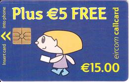 IRELAND - Simply Talk 15 Euro/Plus 5 Euro Free, Chip GEM1.3, Used - Ireland