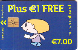 IRELAND - Simply Talk 7 Euro/Plus 1 Euro Free, Chip GEM1.3, Used - Ireland