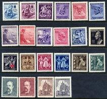 BOHEMIA & MORAVIA 1942-44 Commemorative Issues MNH / **. - Unused Stamps