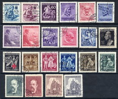 BOHEMIA & MORAVIA 1942-44 Commemorative Issues Used. - Bohemia & Moravia