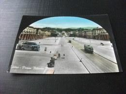 AUTO CAR TRAM PULLMAN CORRIERA FILOBUS PIAZZA VITTORIO VENETO TORINO - Autobus & Pullman