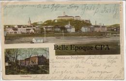 Nordrhein-Westfalen - Gruss Aus SIEGBURG - Schülzenburg ++++ Bahnpost - Cöln ++++ Vers Rye, NY, USA, 1903 ++++ RARE - Siegburg