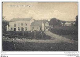 SIBRET ..-- Maison Robert . Vers JUZIERS ( Melle GATINEAU , La Fauvette ) . Voir Verso . - Vaux-sur-Sûre