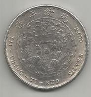 Cina, Impero, Tai Ching Ti Kuo, Weight 20,50 Gr., Diametro 39 Mm. - Cina