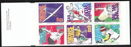 Sweden 1993 / Sport Championships, Wrestling, Table Tennis, Bowling, Handball / Markenheftchen, Booklet, Carnet MNH - Sonstige